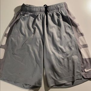 Nike boys athletic shorts; size S